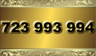 zlaté  číslo - 723 993 994 - O2 www.extracisla.cz