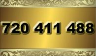 zlaté  číslo - 720 411 488 - O2