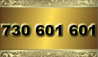 zlaté  číslo - 730 601 601