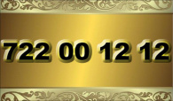 zlaté číslo - 722 00 12 12  -  O2 www.extracisla.cz