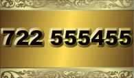 zlaté číslo - 722 555 455  -  O2 www.extracisla.cz