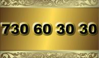 zlaté  číslo - 730 60 30 30