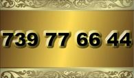 zlaté číslo - 739 77 66 44  T-mobile