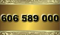 zlaté  číslo - 606 589 000 - O2