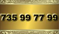 zlaté číslo - 735 99 77 99  www.extracisla.cz