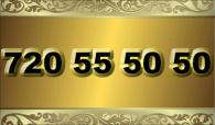 zlaté  číslo - 720 55 50 50 - O2
