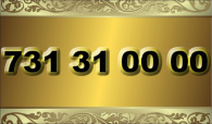 zlaté  číslo - 731 31 00 00  T-mobile
