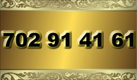 zlaté  číslo - 702 91 41 61