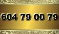 zlaté  číslo - 604 79 00 79  T-mobile