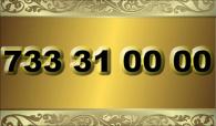 zlaté  číslo - 733 31 00 00 T-mobile
